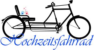 Hochzeitsfahrrad Logo